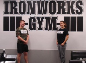 Laura and Dickie Ironworks Gym