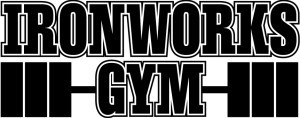 Logo for Ironworks Gym in Binghamton, NY.